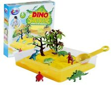 GRAFIX DINOSAUR DINO SAND PIT SCENE PLAY SET INCLUDES SIX MODEL TOYS 16-8092