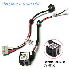 DELL 15R i15RM-5128sLV INSPIRON NOTEBOOK DC JACK CABLE DC30100M900 0YF81X