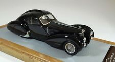 CHROMES 068 - Bugatti 57S Atlantic 1936 sn57473 Seydoux Restoration black 1/43