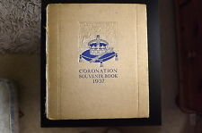 Vintage Original Coronation George V1 Souvenier Book 1937. Used. Daily Express