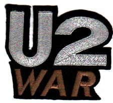U2 'WAR' sew or iron on vintage embroidered patch