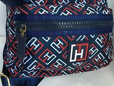 TH Tommy Hilfiger Nylon Crossbody Bag/Blue Red White TH/Messenger/$78/NWT