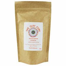 Zeolite Detox -250g Pure Clinoptilolite by Clay Cure - Natural Cleansing Mineral