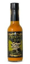 El Dr. burnorium Psycho Jugo 148ml Ghost Pepper Mostaza Muy Hot Chilli Sauce Regalo