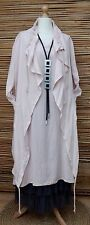 LAGENLOOK BEAUTIFUL 2 PCS  LONG DRESS+QUIRKY LONG JACKET*LIGHT PINK* BUST 40-42