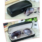 Clam Shell PU Leather Hard Case Box for Eyeglass Sunglasses Reading Glasses