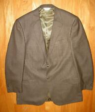 GERALD AUSTIN CHARLES 2B MEN'S DARK BROWN PLAID SPORTS JACKET SIZE 42 L  NWOT