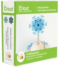 CRICUT *HOLIDAY SNOWFLAKES* CARTRIDGE *NEW* WINTER CHRISTMAS HANUKKAH RELIGIOUS