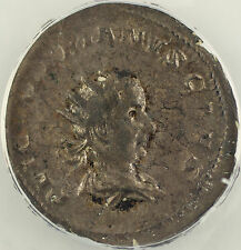 AD 257-58 Roman Antoninianus Coin Valerian Junior Cologne Mint ANACS VF-25 AKR