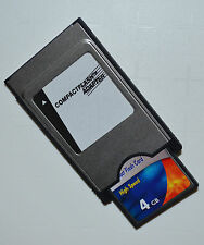 PCMCIA Adapter Compact Flash Karte 4 GB für COMAND APS C197 W212 W204 W221 W207