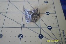 STUNNING STERLING SILVER FILIGREE BIG FLYING BUTTERFLY MONARCH ?  RING 6. .5 *
