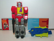 TRANSFORMERS G1 ACTION MASTERS BLASTER & FLIGHT-PACK 100% COMPLETE 1990 HASBRO