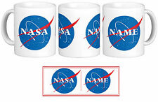 NASA Personalised with your Name Gift Mug Cup Design Logo