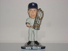 MARK TEIXEIRA New York Yankees Bobble Head 27X World Series Champs Trophy Ed**
