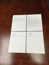 4 Steve Jobs personal Emails from 2004, While at Apple, Original Copies! Rare!