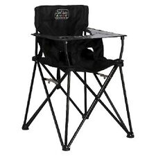 High Chair Traveling Portable Lightweight Black Folding Baby Seat By Ciao! Baby