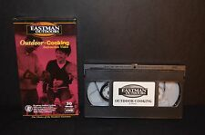 EASTMAN OUTDOOR COOKING INSTRUCTION VIDEO VHS TAPE