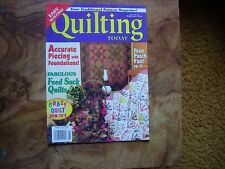 Quilting Today Magazine Issue No. 64 1998