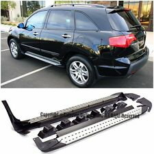 For 07-09 Acura MDX Factory Style Aluminum Side Step Nerf Bars Running Board Kit