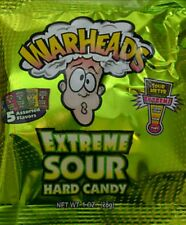 Warheads Extreme Sour Hard Candy 28g Bag - Free 1st class P&P