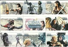 XENA WARRIOR PRINCESS DANGEROUS LIASONS - COMPLETE SET OF 72 - LUCY LAWLESS