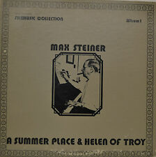 "OST - SOUNDTRACK - A SUMMER PLACE & HELEN OF TROY - MAX STEINER  12""  LP (M846)"