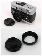 New metal Lens Hood + cap for Rollei 35S series 35S 35SE Sonnar 40/2.8 black