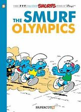 The Smurfs #11: The Smurf Olympics (The Smurfs Graphic Novels)-ExLibrary