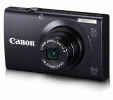 Canon PowerShot A3400 IS 16.0MP Digital Camera - Black