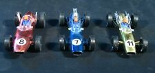 "Lot of PMC Plastic Indy Cars ~ F1 Race Cars ~ 5"" long ~ Nice lot of 3"