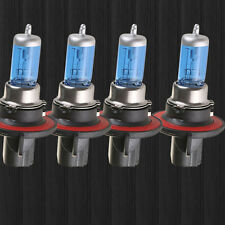 Lot4 H13/9008 100W 12V 6000K Super White Gas Halogen Headlight Light Lamp Bulbs