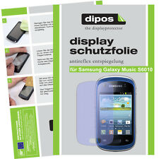 1x Samsung Galaxy Music S6010 matt Displayschutz Folie Antireflex Schutz dipos