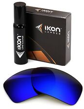Polarized IKON Iridium Replacement Lenses For Oakley Big Taco - Deep Blue