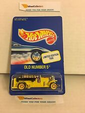 Old Number 5 Yellow * Limited Edition * Hot Wheels * W5