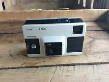 Vintage JcPenny Instant Load X100 Camera Made In British Hong Kong