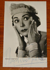 MARGOT FONTEYN ~ AUTHENTIC BEAUTIFUL HAND SIGNED POSTCARD ~ BALLET AUTOGRAPH 4