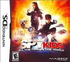 SPY KIDS:ALL THE TIME IN THE WORLD NLA NDS ACTION NEW VIDEO GAME