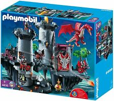 RARE - Playmobil 4835 - Citadelle du Dragon Rouge