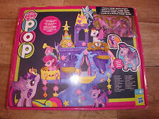 My Little Pony playset pop Princess Twilight Sparkle Kingdom neuf dans boîtier endommagé