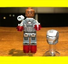 LEGO MARVEL SUPER HERO IRON MAN WAR MACHINE GENUINE MINIFIGURE ONLY @ SET# 76006