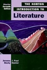 Acc, The Norton Introduction to Literature, , 0393972224, Book