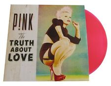 P!NK - THE TRUTH ABOUT LOVE 2 PINK COLORED VINYL  PINK LP + CD NEW