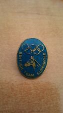 1948 London olympic games Equestrian British Team Supporters badge