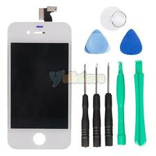 White Glass Touch Screen Digitizer + LCD Display Assembly for iPhone 4S Part