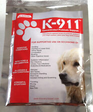 K-911 Probiotic Aid for Dogs digestive health supplement 3.5 oz. + free shipping