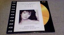 "KATE BUSH THE WHOLE STORY 1st UK POLYGRAM MUSIC 12"" CD PAL VIDEO DISC 1986 MTV"