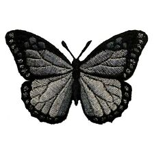 ID 2125 Butterfly Insect Embroidered Iron On Badge Applique Patch