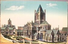 Irish Postcard CHRISTCHURCH CATHEDRAL Dublin Ireland Lawrence Glossy pmk 1959