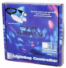 Chauvet DJ XPRESS100 USB To DMX Interface + ShowXpress Lighting Control Software