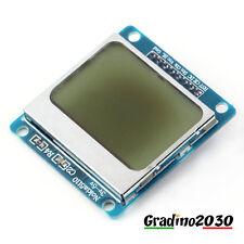MODULO LCD NOKIA 5110 COMPATIBILE ARDUINO